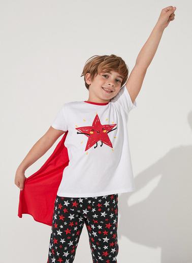 Penti Çok Renkli Boys Stars Ss 2Li Pijama Takımı Renkli